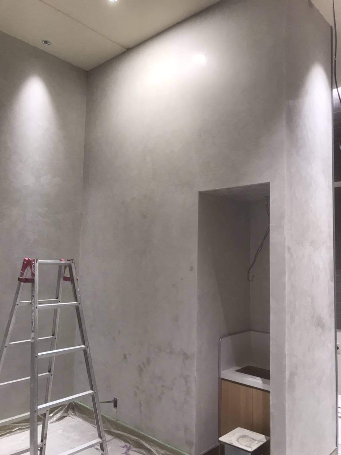 岐阜 イタリア漆喰